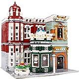 kyman - Conjunto de Edificios, Modelo arquitectónico Bloques de construcción Kit, Bloques de Juguetes de Bricolaje, Juguetes educativos, niños y Adultos