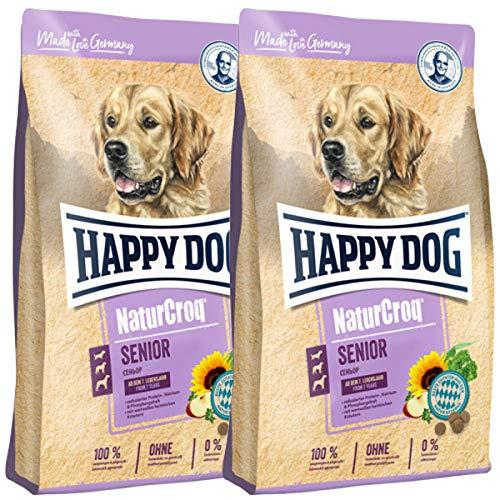 Happy Dog 2 x 15 kg NaturCroq Senior