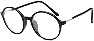 Aiweijia Unisex large frame glasses computer mirror equipped with myopia glasses