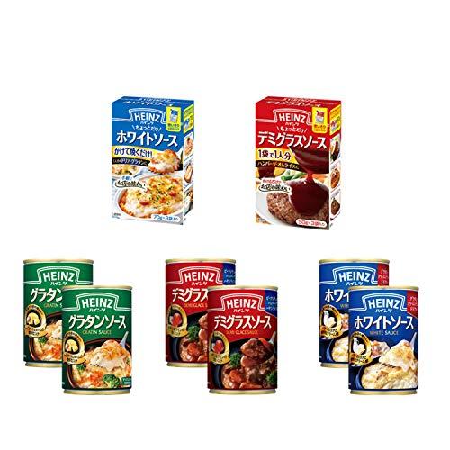 ハインツ ソース 缶詰 アソート 3種 小分けソース 2種