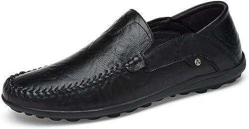 IWGRWU Leder Herren Mokassins Leder Hollywood Driving Style Loafer Dress Schuhe Schuhe