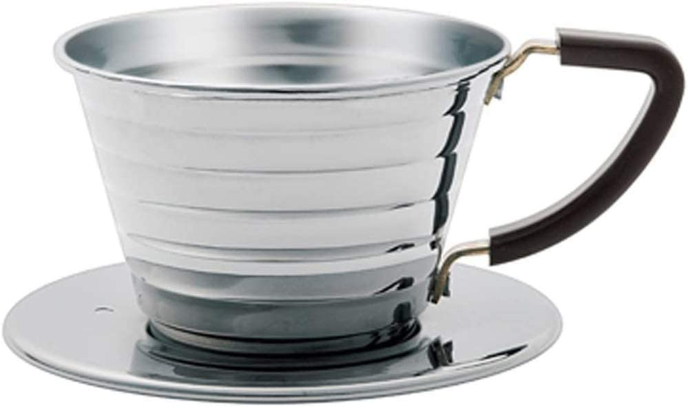 Kalita Stainless Steel Wave 155 Size Coffee Silver depot low-pricing Dripper