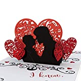 Lovepop Star Wars'I Love You.I Know' - 3D Card, Valentine's Day Cards, Romance Card, Love Card, Card for Husband, Card for Wife