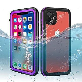 iPhone 11 Waterproof Case Dooge IP69K Certified Shockproof/Dirtproof/Snowproof Full-Sealed Full-Body Heavy Duty Protective Case with Built-in Screen Protector for Apple iPhone 11