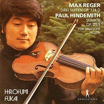 Reger & Hindemith: Works for Viola