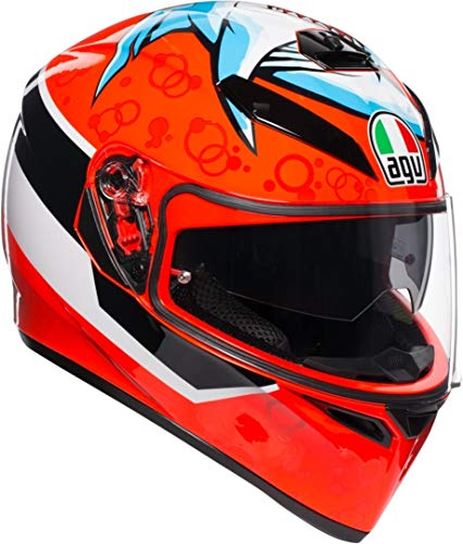 AGV Casco integrale K-3 SV MULTI PLK Attack ML Rosso
