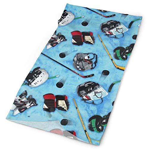 fishappleeatall Bandana Schal, Kopfwickel, Haarband Kopfband, Hockeyausrüstung Stirnband Wickelhals Kopftuch für Männer, Frauen