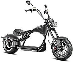 Eahora 2000W Electric Motorcycles for Adults 60V Electric Scooter with Seat, 12