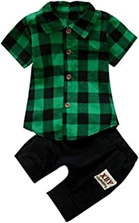 Toddler Baby Boys Clothes, Toddler Kids Baby Boys Beard T Shirt Tops+Shorts Pants Outfit Clothes Set