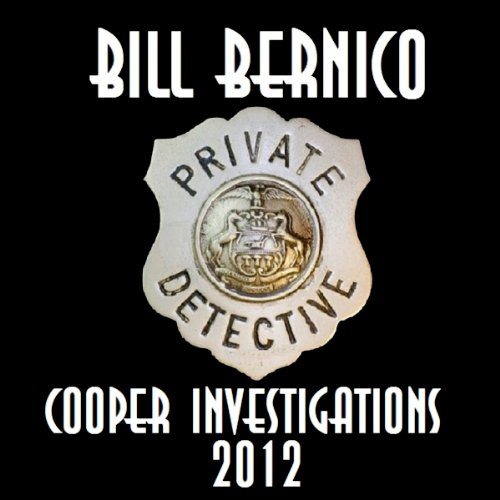 Cooper Investigations: 2012 audiobook cover art
