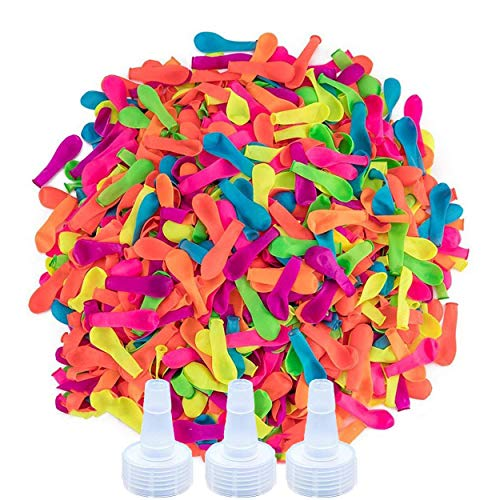 Ueerdand 1700 Pack Water Balloons with Refill Hose Nozzle Eco-Friendly