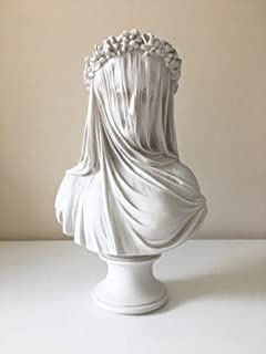 virgin mary statue, THE VEILED LADY statue, veiled woman statue