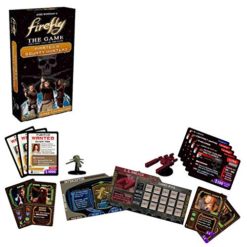 Unbekannt Gale Force 9 GF9FIRE4 - Firefly - Pirates and Bounty Hunters Expansion, Brettspiel