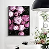 GJQFJBS Poster and Print Mural Canvas Painting Flowers Living Room Wall Pictures Artist Home Decoration A5 60x90cm