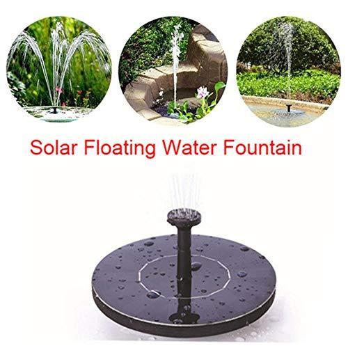 WXCL Power Solar Vogelbrunnen Solar Gartenbrunnen Wärmepumpe Solar Gartenbrunnen Wasserfall Solar Wasserpumpe Waschbecken Brunnen, wie abgebildet