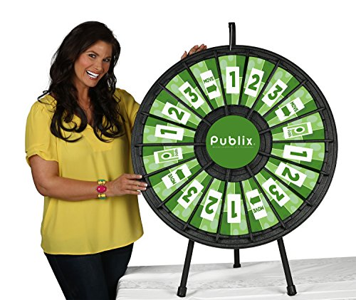 Best Prices! 18 Slot Tabletop Prize Wheel (31 Inch Diameter)