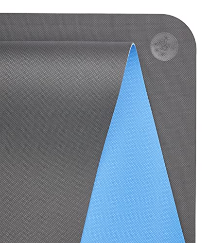 Manduka Begin 5mm Thick Reversible, Lightweight Yoga Mat with Alignment Stripe with Dense Cushioning for Support and Stability in...