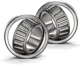 2x 25877-25821 Tapered Roller Bearing QJZ New Premium Cup & Cone