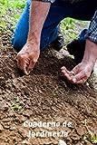 Cuaderno de Jardinería: Libreta de Campo con 110 Páginas   Incluye Plano del Huerto, Ficha de Cultivos, Calendario...   Regalo Perfecto para Aficionados a la Jardinería o Agricultura