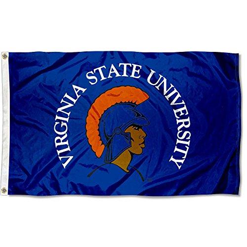 Virginia State Trojans VSU University Large College Flag