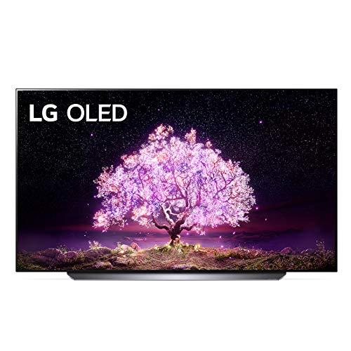 LG OLED77C14LB Smart TV 4K 77', TV OLED Serie C1 2021 con Processore α9 Gen4, Dolby Vision IQ, Wi-Fi, webOS 6.0, FILMMAKER MODE, Google Assistant e Alexa Integrati, 4 HDMI 2.1, Telecomando Puntatore