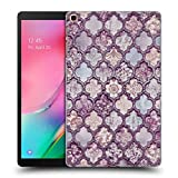 Head Case Designs Officiel LebensArt Maroc Violet Glamour Coque Dure pour l'arrière Compatible avec Samsung Galaxy Tab A 10.1 2019