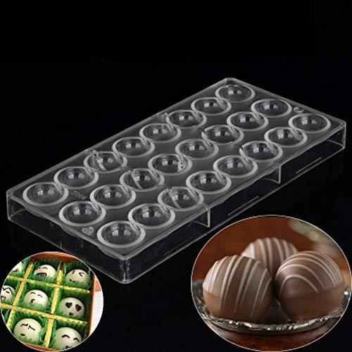 チョコレート型 お菓子作り 便当 ケーキ 氷格子 モールド DIY ポリカーボネート ギフトセット付 球 たま形
