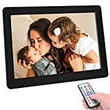 Digital Photo Frame 10 Inch Digital Picture Frame 1280800 Pixels High Resolution High Resolution LED Screen USB And SD Card Slots And Remote Control With 720P High Resolution for Pictures and Videos