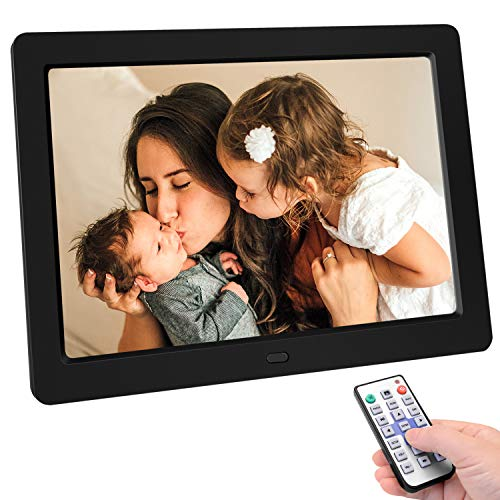 Tenswall 10 Inch Digital Photo Frame Upgraded 1280x800 High Resolution Full IPS...