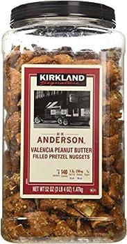 Kirkland Hk Anderson Peanut Butter Filled Pretzels 3 Lb  Pack of 2