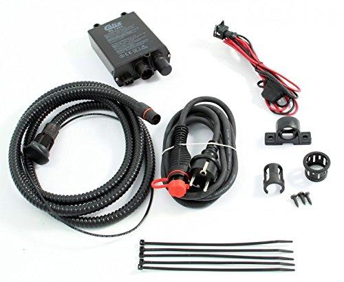 Tuning-Pro Calix Erhaltungsladegerät/Batterie-Ladegerät Festeinbau 12V / 5A, inkl. Einbau- & Anschlußkabel (Kabel-Länge Motorraum: 1m* - BC1205 + MKMS1025