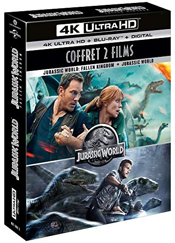 Jurassic World 1 & 2 [4K Ultra HD + Blu-Ray + Digital]