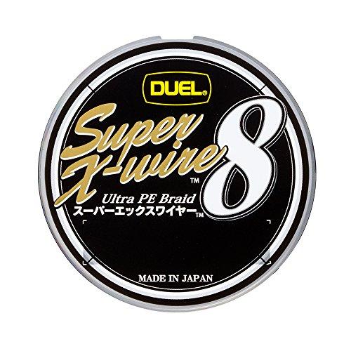 デュエル(DUEL) ライン(PE): SUPER X-WIRE 8 150m 1.0号 : 5色染分け