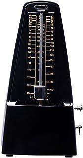 Rayzm機械式メトロノーム、高精度、大音量、バッテリー不要、ピアノ/ヴァイオリン/ギター/ウクレレ/ドラム/ベース及び各種の管楽器に適用