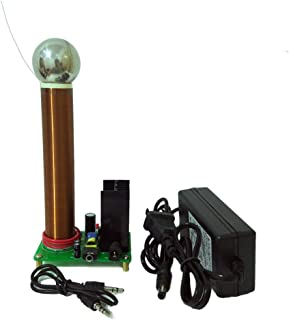 JIAYI DIY Mini 20W Tesla Coil Plasma Speaker Music Tesla Wireless Transmission Test
