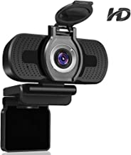 Dericam 1080P HD Webcam, USB Webcam for Live Streaming, Desktop and Laptop Webcam, Plug..