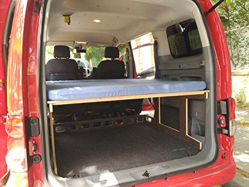 Camporan - Kit camper con colchón plegable para NV200 y Evalia