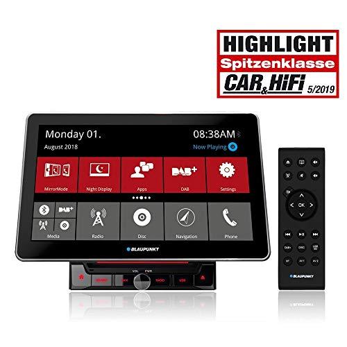 Blaupunkt Rome 990 DAB Doppel-DIN Moniceiver DAB+ Tuner, Bluetooth®-Freisprecheinrichtung, Anschlus