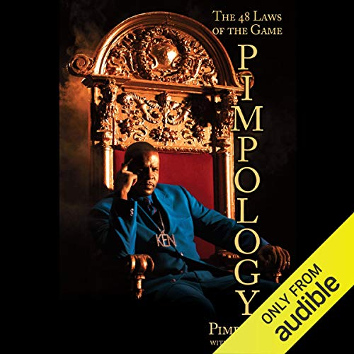 Pimpology audiobook cover art