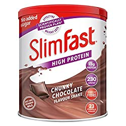 High in protein 23 Vitamins and minerals Just add skimmed milk Only contains naturally occurring sugars from milk Great source of fibre
