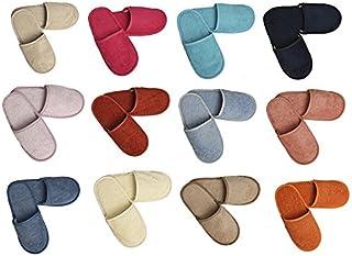 Algodonea- Pack de 5 Pares SAPATILLAS de Rizo. (35/38, Colores)