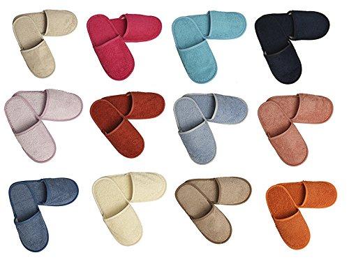 Algodonea- Pack de 5 Pares SAPATILLAS de Rizo. (39/43, Colores)