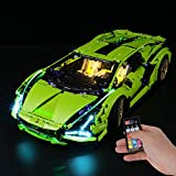 Briksmax Led Lighting Kit for Technic Lamborghini Sián FKP 37 - Compatible with Lego 42115 Building Blocks Model- Not Include The Lego Set