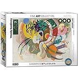 EuroGraphics 'Wassily Kandinsky Curva dominante Puzzle (1000 Piezas, Multi-Color)