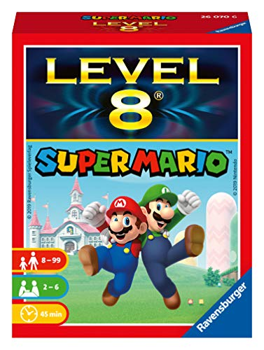 Ravensburger Kartenspiele 26070 - Super Mario™ Level 8®