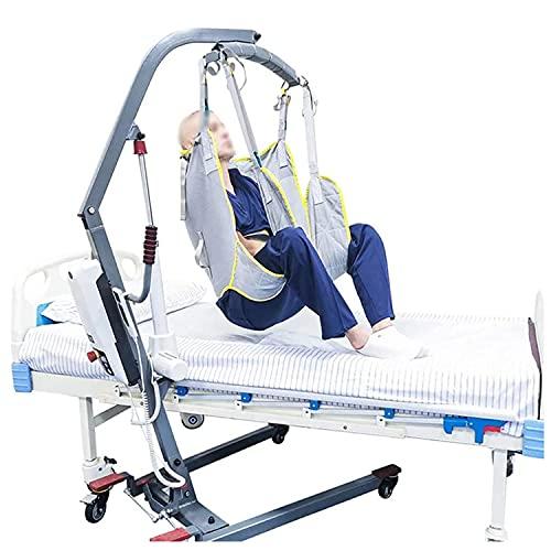 Imbracatura di sollevamento del Paziente, Comoda da bagno Imbracatura per il sollevamento del paziente con gambe divise per il trasferimento dal letto alla sedia a rotelle, poltrona reclinabile, sedia