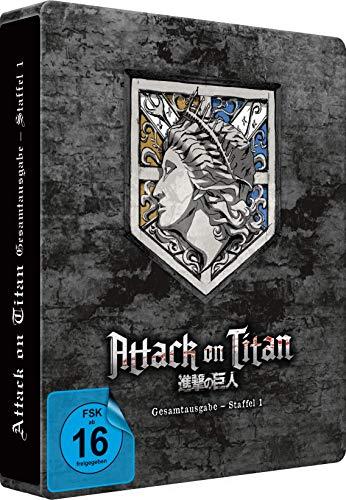 Attack on Titan - Staffel 1 - Gesamtausgabe - [Blu-ray] Steelbook (Exklusiv bei Amazon.de)