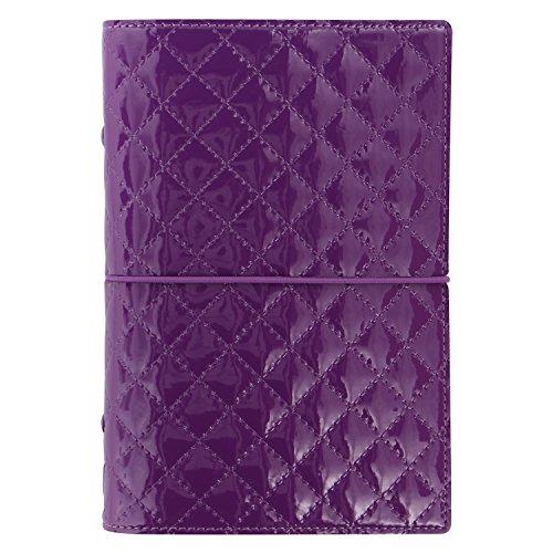 Filofax Personal Domino Luxe Organizador - violeta