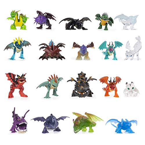 Dreamworks Dragons 6054807 Legends Evolved, Mystery Dragon Mini-Sammlerfigur (Verschiedene Modelle), Multicolour