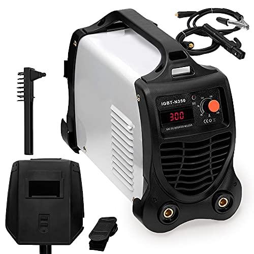 INIT Maquina de Soldar Inverter   Soldador Profesional Electrico   Equipos de Soldadura   300A 15 KVA de Potencia Tecnologia IGBT Corriente Continua DC MMA  